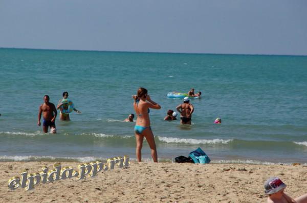 Пляж Витязево август 2012г